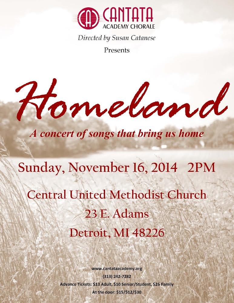 HOMELAND: A Concert of Songs That Bring Us Home